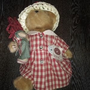 Boyds bear doll
